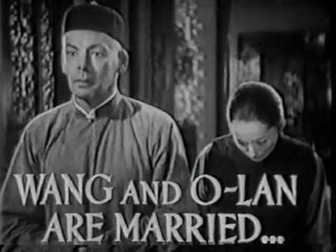 Wang Lung and O-Lan are married - The Good Earth.