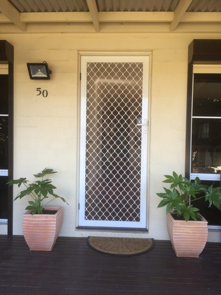 Doorway to The Best House in Melbourne.