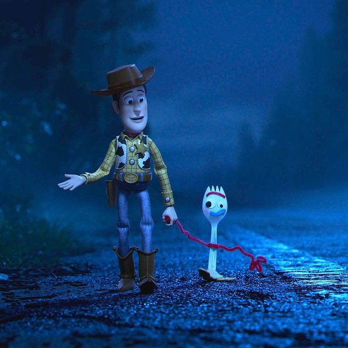Woody and Forky.
