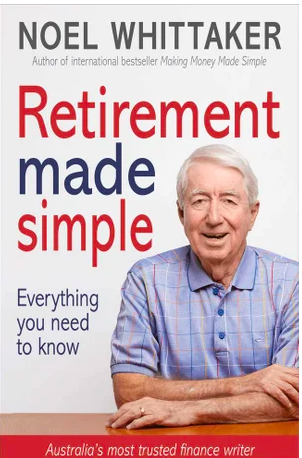 "Cover of Noel Whittaker's book ""Retirement Made Simple."""