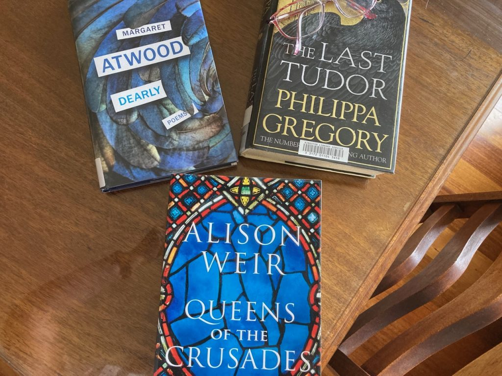 3 books.
