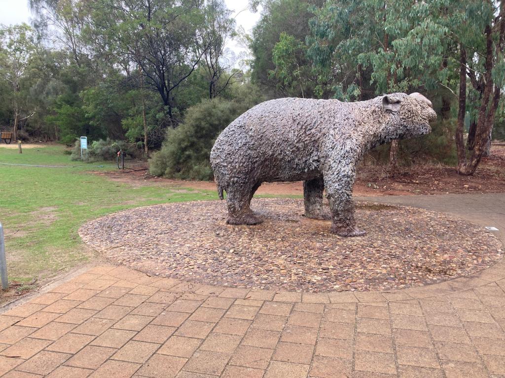 Giant extinct wombat.