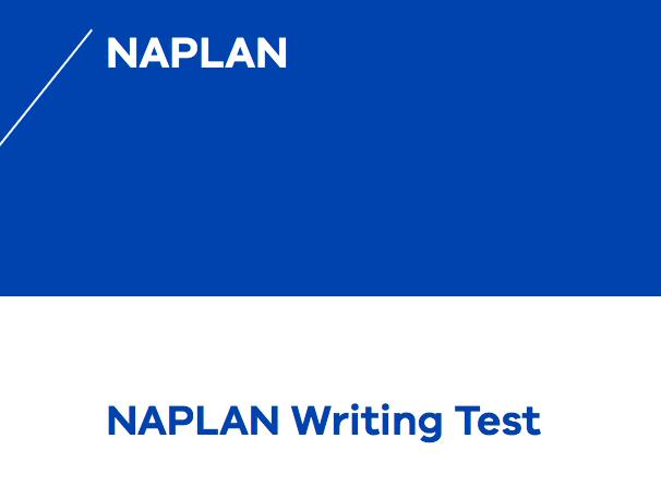 Naplan Writing Test.